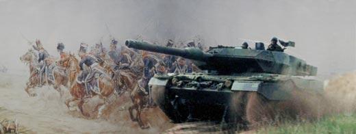 Cavalerie toen en nu. Van paarden tot tanks.